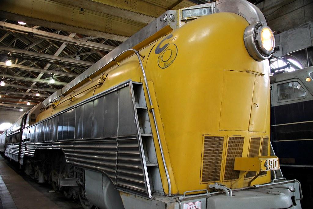 C&O 490 4-6-4 Hudson (ALCO)