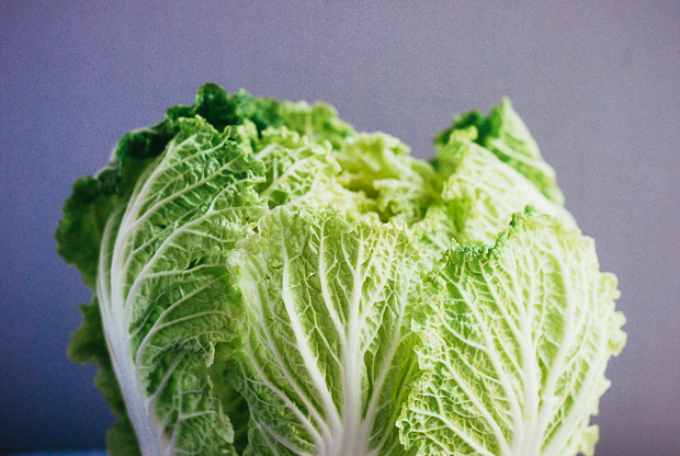 Napa Cabbage Wedge Salad with Buttermilk Dressing Recipe