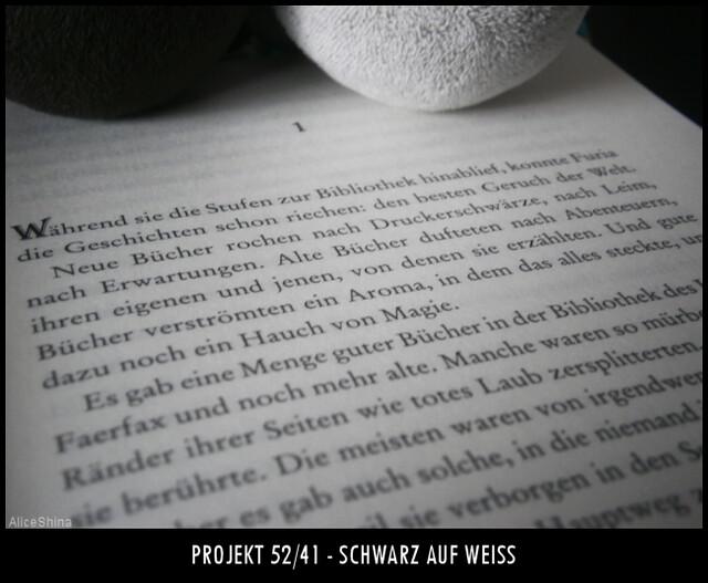 Projekt 52/41 - Schwarz auf Weiß