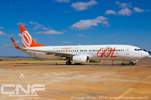 Boeing 737-800 Gol Linhas Aéreas PH-GUA