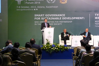 At GEGF2014 in Astan