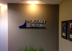 Woodley Farra Wall Logo