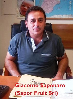 Noicattaro. Giacomo Saponaro (Sapor Fruit Srl)