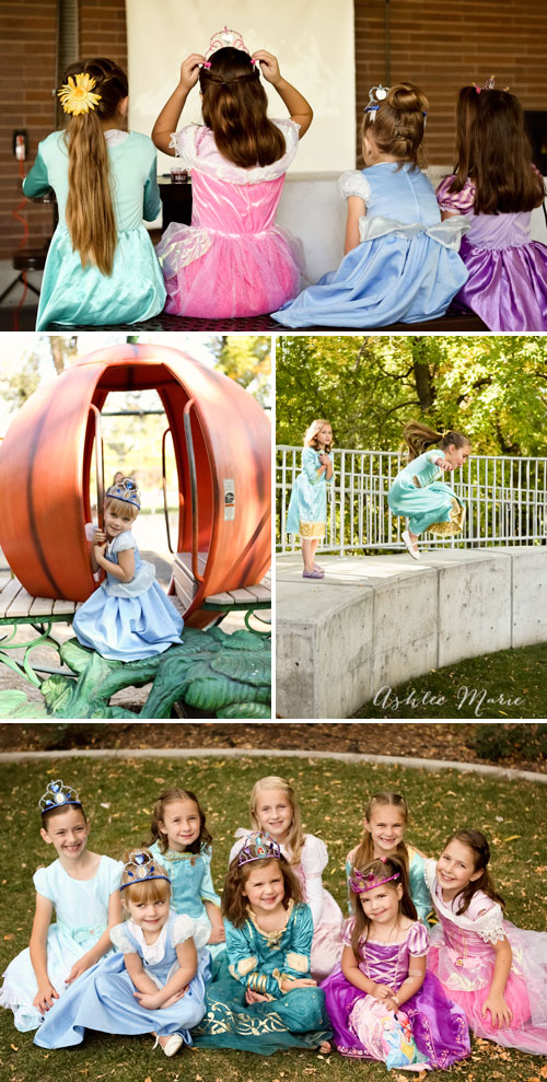 having a your disney princess birthday party at a park and the kids will enjoy playing. you can also add a projected version of sleeping beauty on dvd to add to a fun princess party