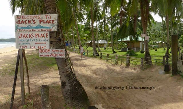 Jack's Place at Nacpan Beach, El Nido, Palawan