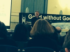 Peter Tatchell - Devonport Guildhall - Good without God