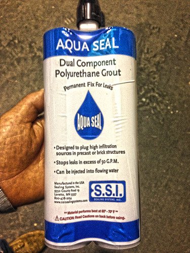 Aqua Seal - The Chemical Grout