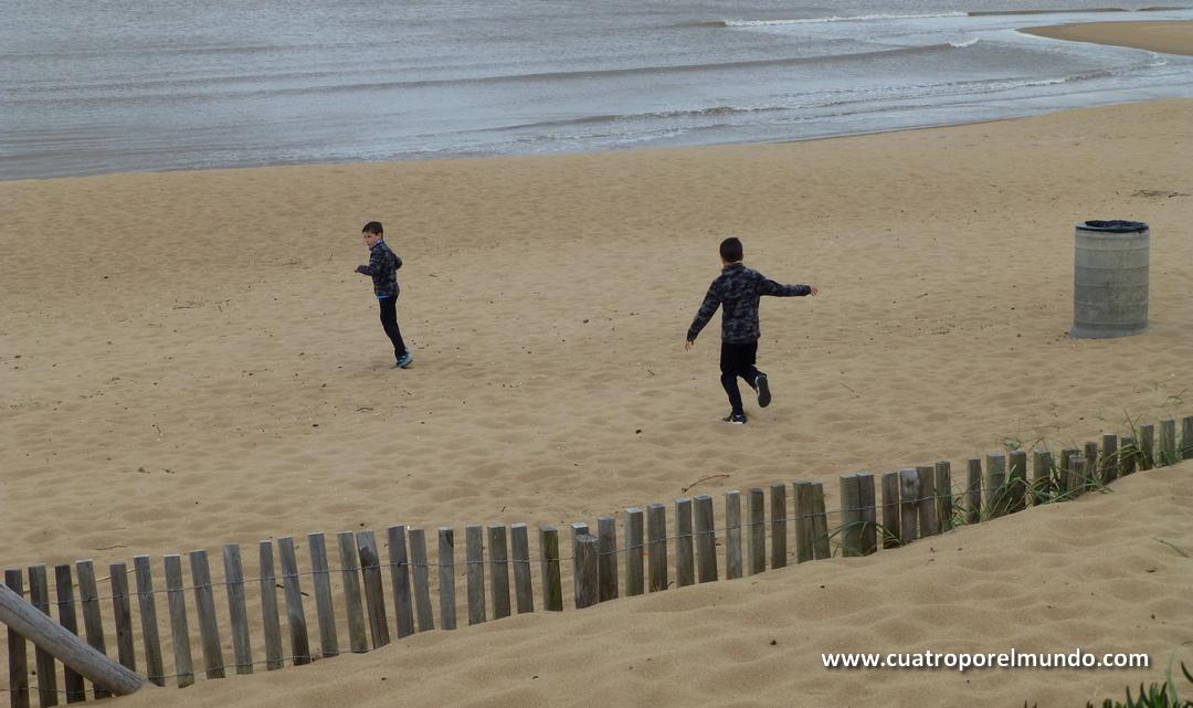 Corriendo por las playas de Punta del Este