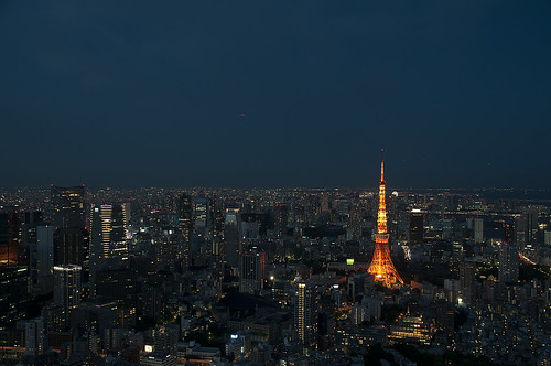 Tokyo views from Mori Tower