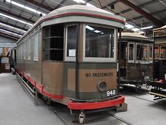 Prison transport tram