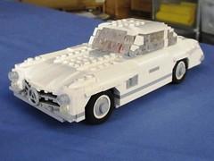 Mercedes 300SL Gullwing built for Bright Bricks