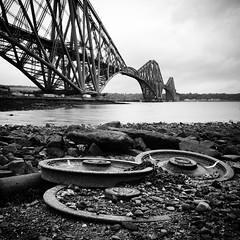 Railway wheels? #ForthBridge, Firth of Forth #Scotland