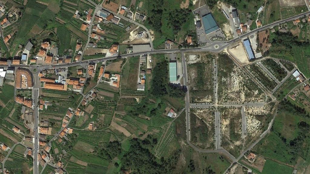 vilalonga, pontevedra, poligonazos en la general, después, urbanismo, planeamiento, urbano, desastre, urbanístico, construcción, rotondas, carretera