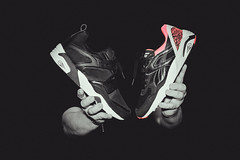 Favorite GR Puma Sneakers 2014: Puma Trinomic Blaze Tech (left) Puma R698 OG 93 (right)