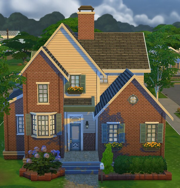 The sims 4 build guide simsvip for Cheapest 2 story house to build