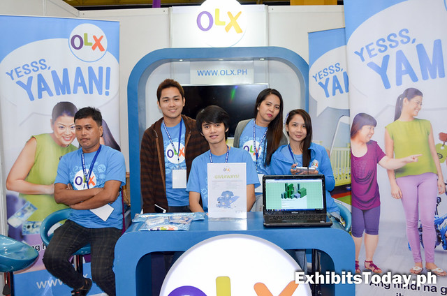 OLX.ph Exhibit Booth