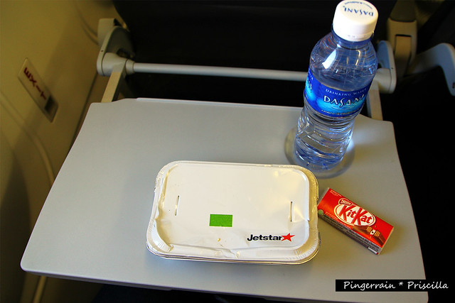 Inflight Food - White