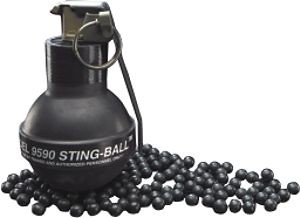 Rusted Old Stingball Grenade Reference Images