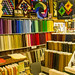 Colors at a quilting fabrics supply store by Ulrich Burkhalter