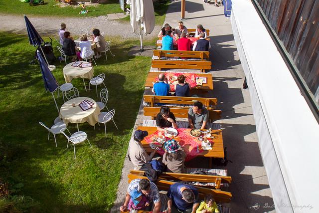 Alpencafe Eng, Großer Ahornboden
