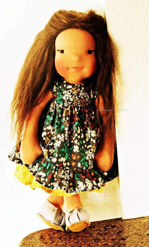 Saffron - an 18 inch cloth doll