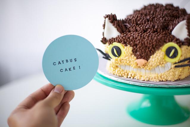 Catbus Cake Tutorial