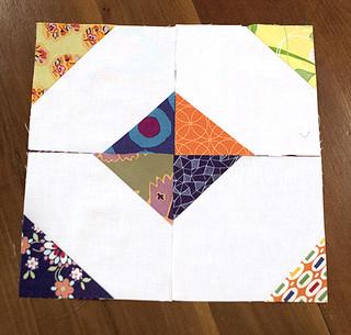 Scrappy Triangles Square
