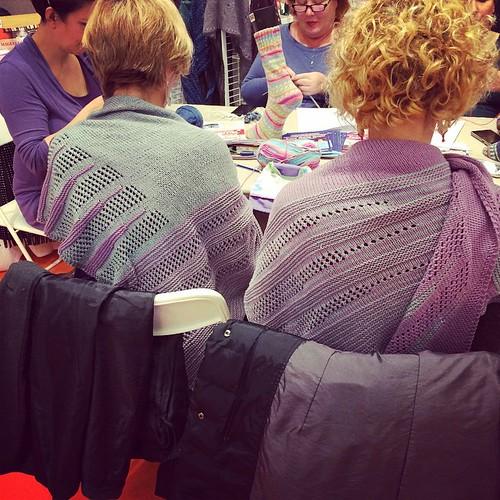 Il mondo delle amiche shawl :)