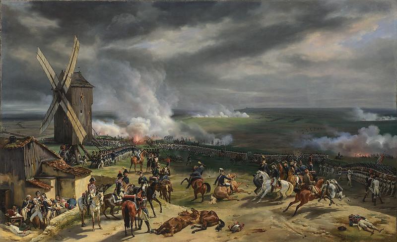 Battle of Valmy by Jean-Baptiste Mauzaisse