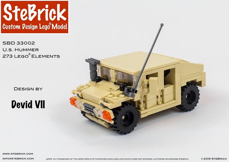 Lego Moc 4607 Us Hummer Technic Model 2016 Rebrickable
