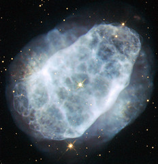 Hubble View of a Nitrogen-Rich Nebula