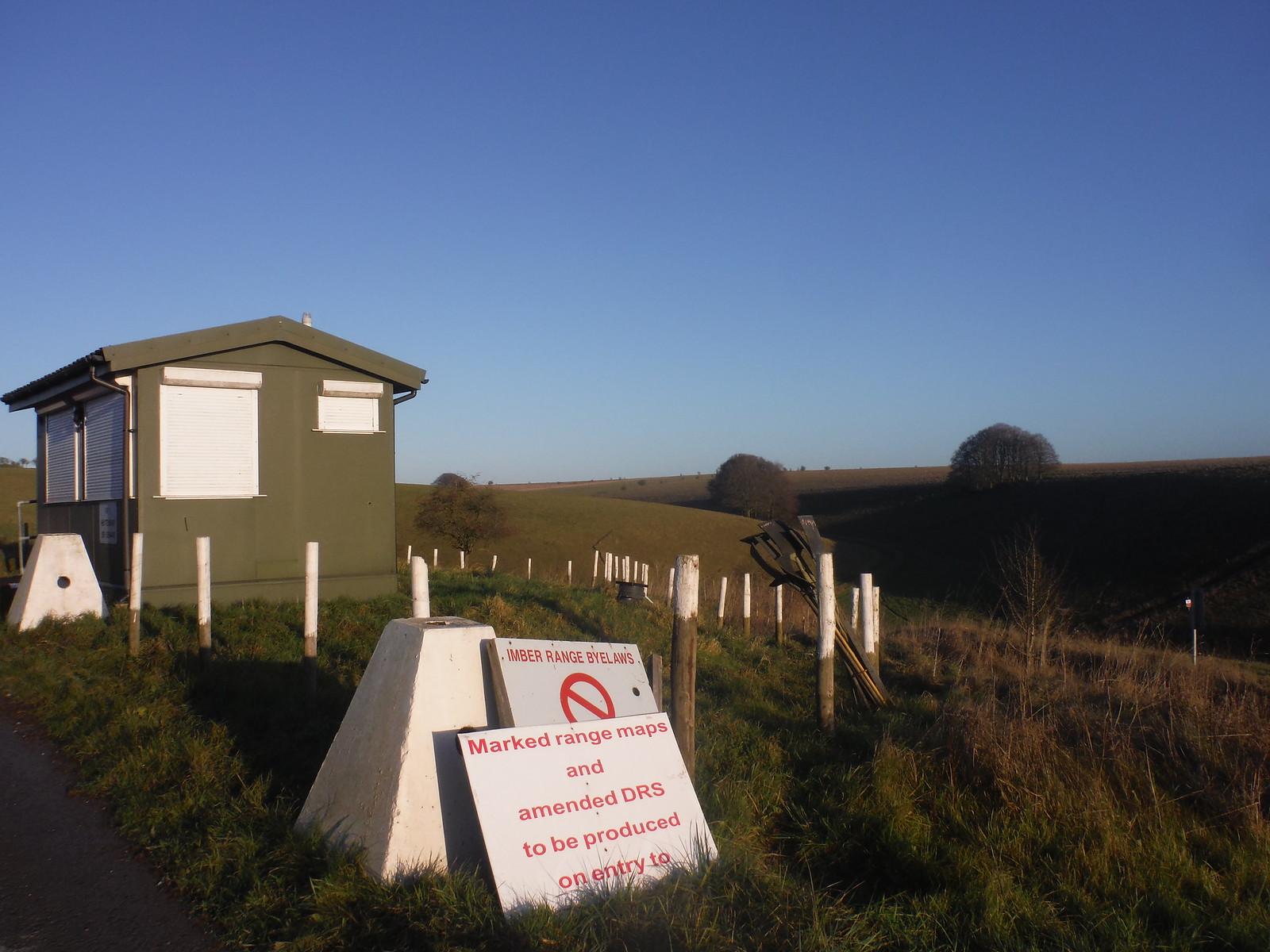 Imber Range, Heytesbury Vedette/Sentry Box SWC Walk 286 Westbury to Warminster (via Imber Range)