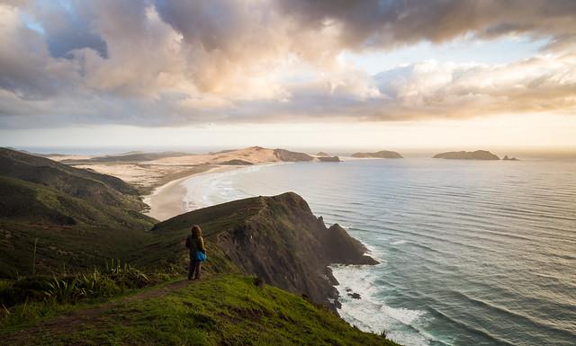View towards Cape Maria van Diemen