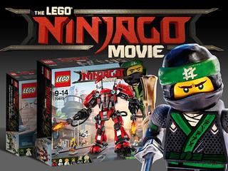 旋風忍者迷站出來,你的小小忍者也能飛躍到好萊塢大銀幕?!《樂高旋風忍者電影》The Lego Ninjago Movie盒組,以及「忍者的一天」定格動畫大賽資訊搶先看!!