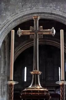 Image of St Bartholomew-The Great. stbartholomewthegreat stbartholomew church ec1 cityoflondon city shadows smithfield 1123 medieval norman cross organ candle