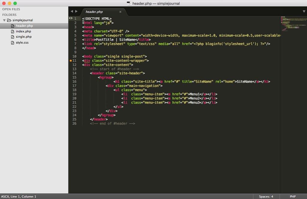 Paste Header HTML