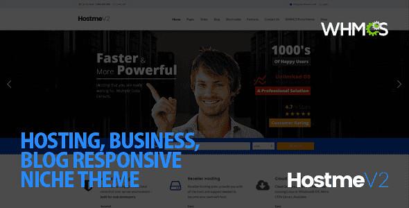 Hostme WordPress Theme free download