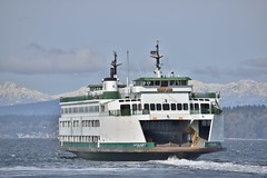 M/V Cathlamet Departing Fauntleroy for Vashon Island --- Washington State Ferries