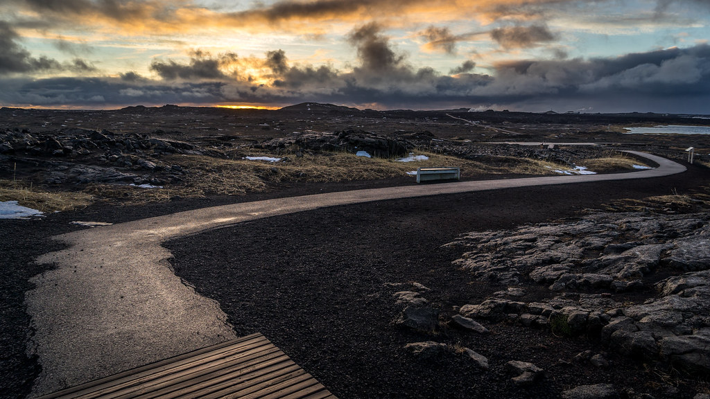 Sunrise in the Southern Peninsula,  Sandvik, Iceland picture