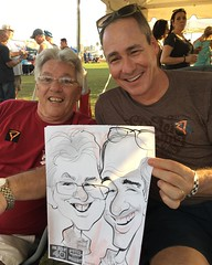 These two friends where really enjoying  #philphest and then they wanted a #caricature #drawing #art #sketch #instagramart #gift #illustration