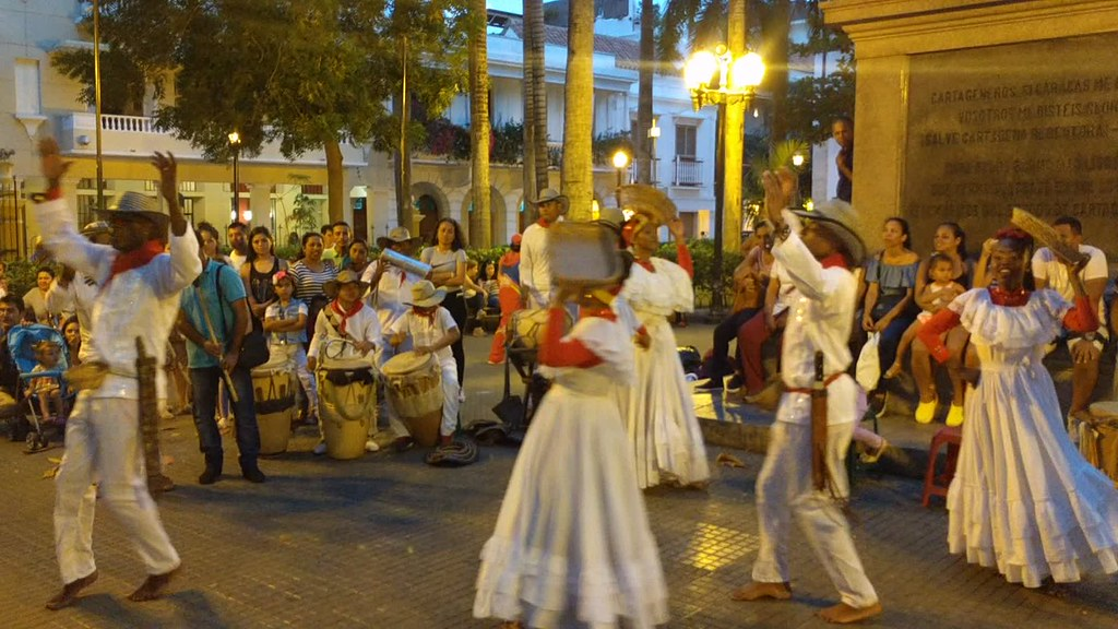 The Walled City Dancers 4, Cartagena, Colombia
