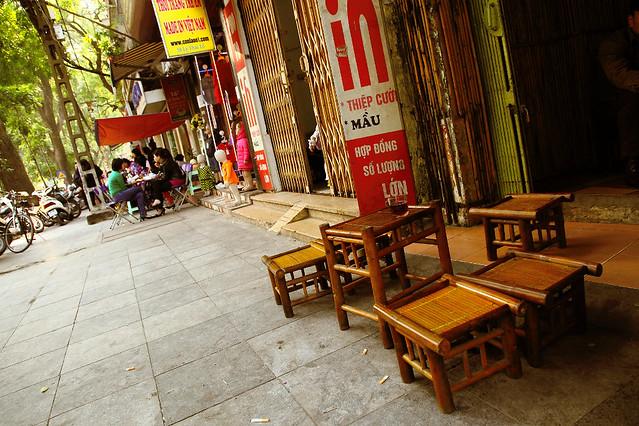 Bamboo stools