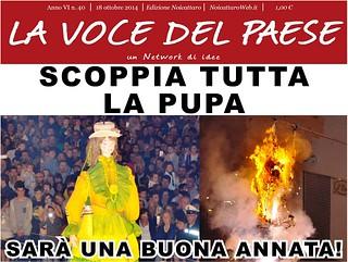 Noicattaro. Prima pagina n. 40-2014 front