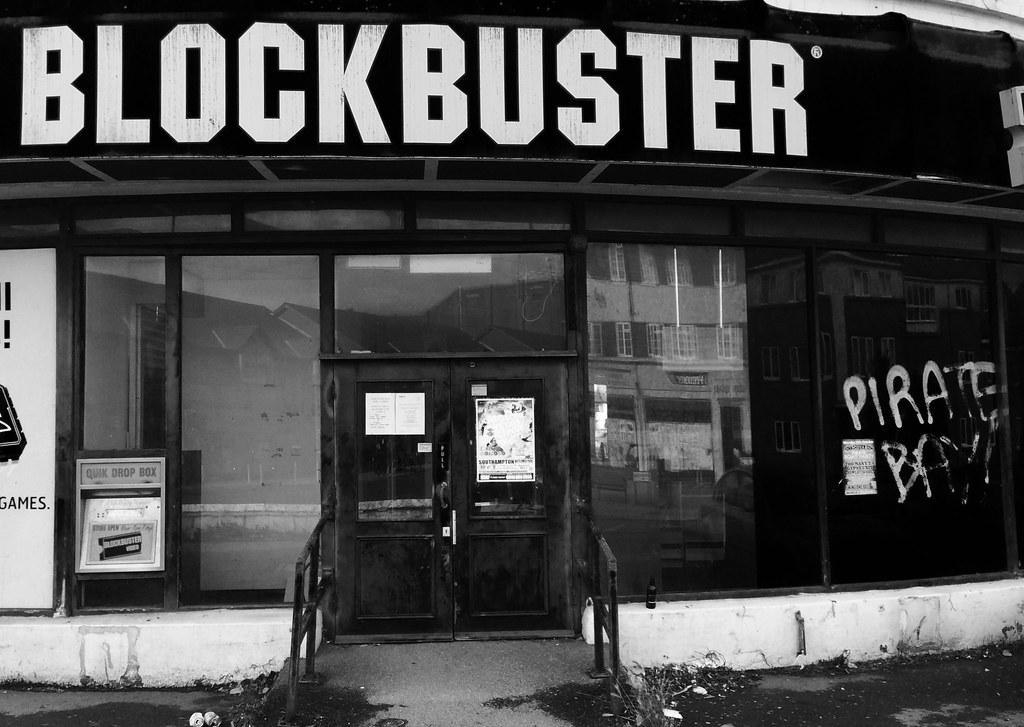 Blockbuster vs Pirate Bay
