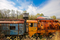 Abandoned railroad car (2)
