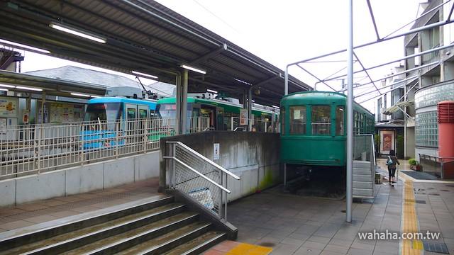 P12江ノ電601号(東急デハ87)40090