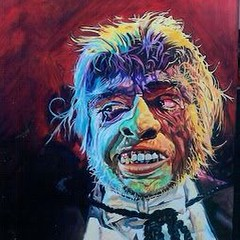 Frederic March as Mr. Hyde, by Basil Gogos. #horror