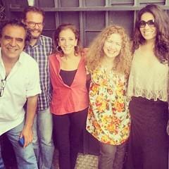 Relembrando manhã feliz de música, poesia e amigos #RádioRoquettePinto @analonardi @jorgeramos @fabianoalbergaria @alicinhadasilveira