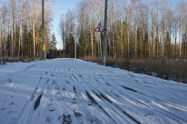 На лыжах по асфальту - состояние трасс на лыжном стадионе Сметаниной