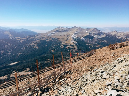 The view from the top of 11,000-foot Lone Peak